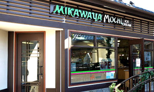 Mikawaya mochi ice cream