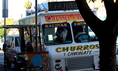 Salina's Churro Truck - Echo Park