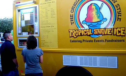Tropical Shave Ice Truck