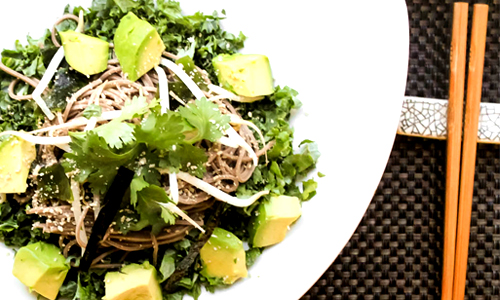 Kale and Soba Salad